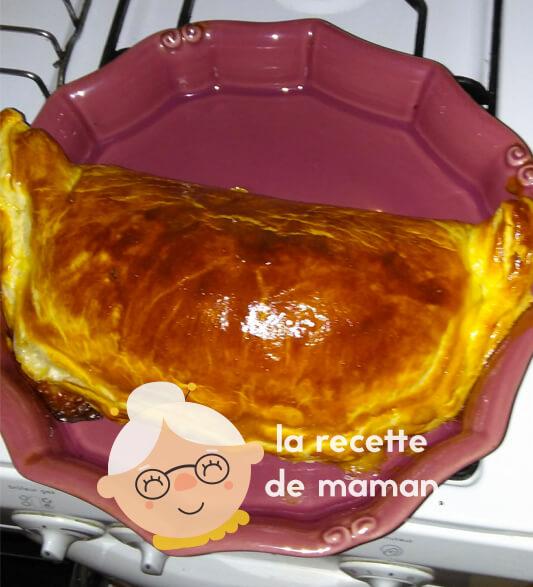 Feuilleté jambon-fromage
