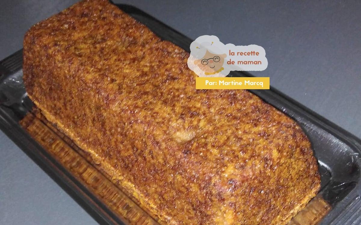 Cake moelleux à la compote, sans oeufs ni lait