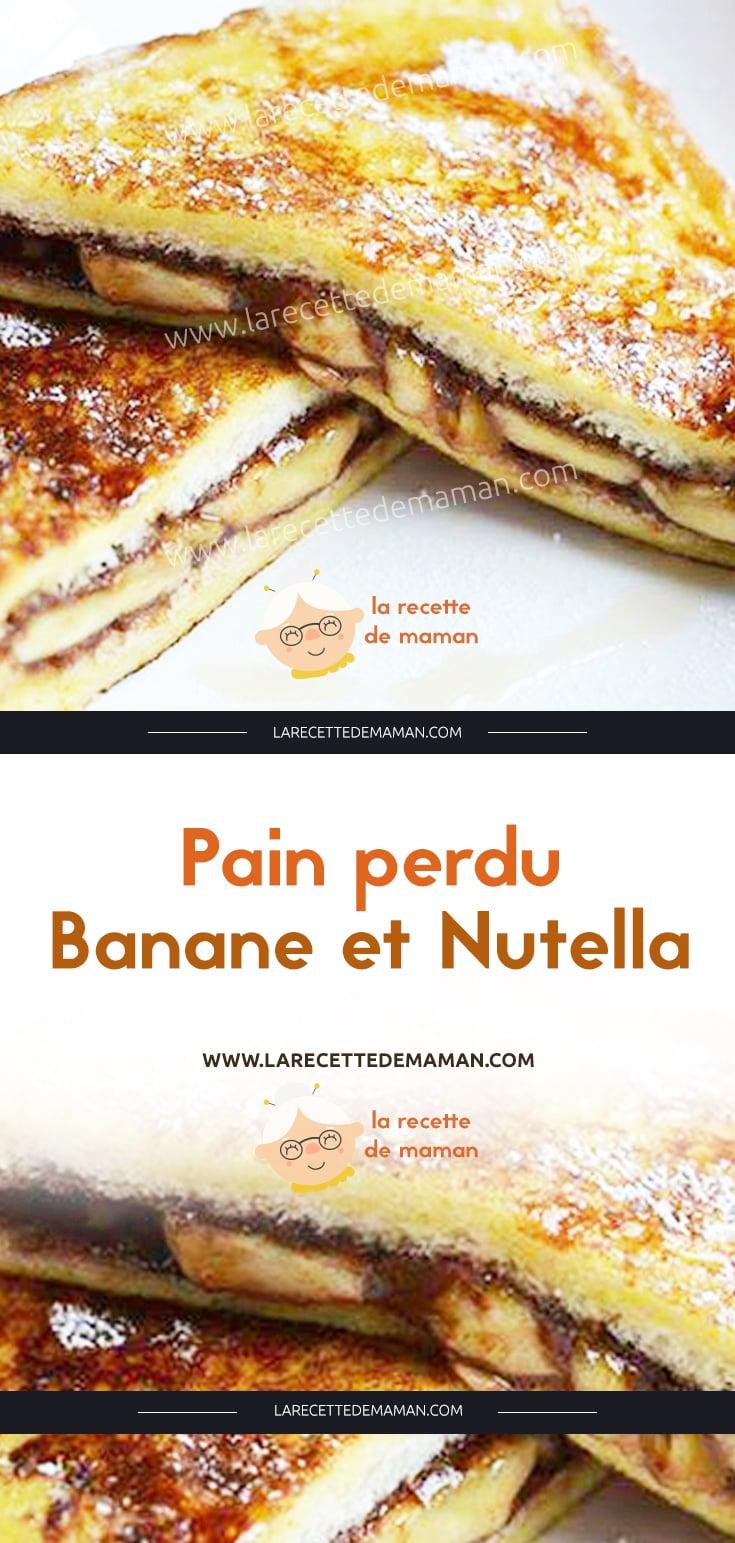 Pain Perdu Au Nutella pain perdu banane et nutella