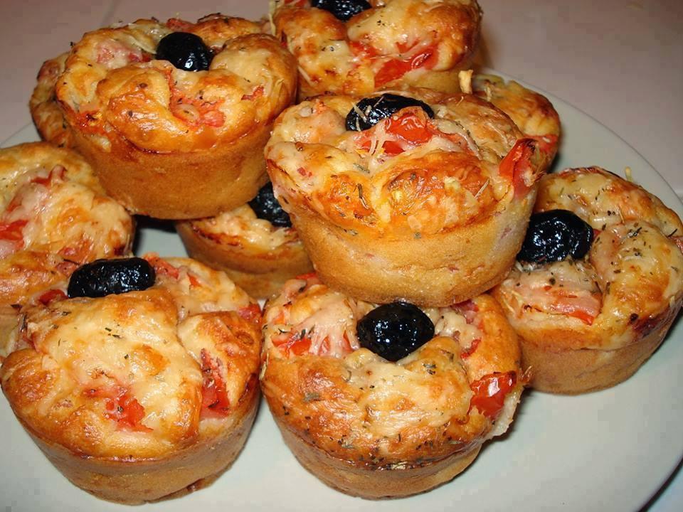 Muffin Salé Façon Pizza !