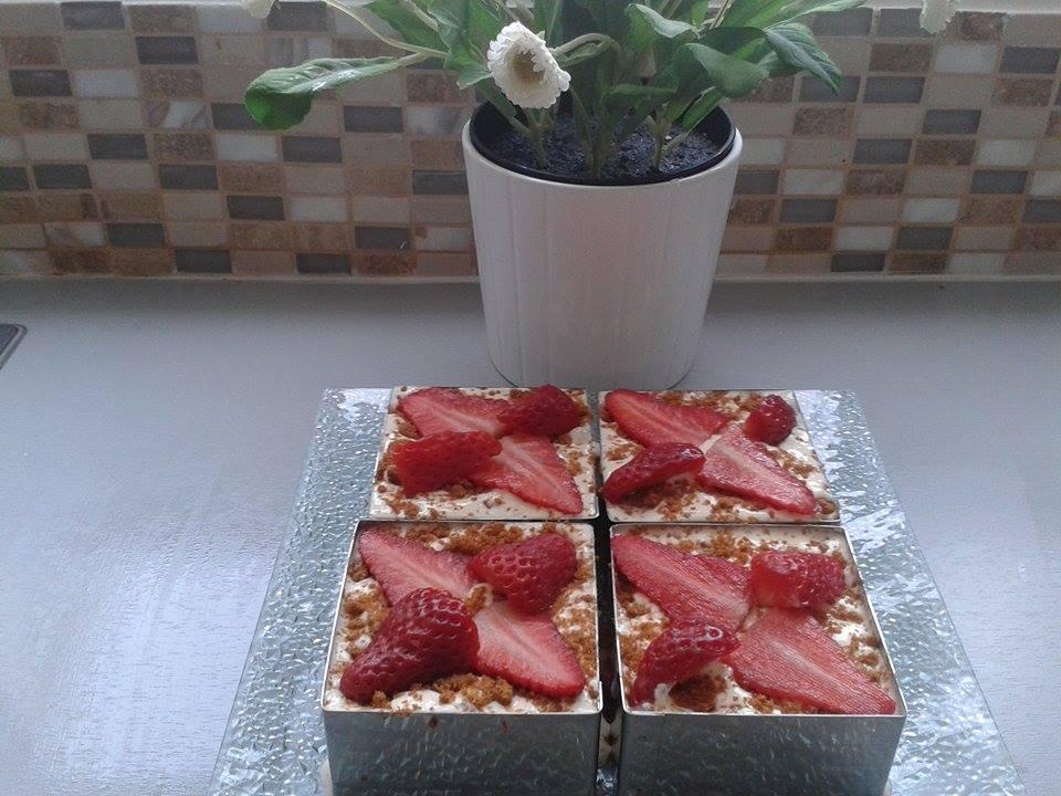 Tiramisu fraises et spéculoos