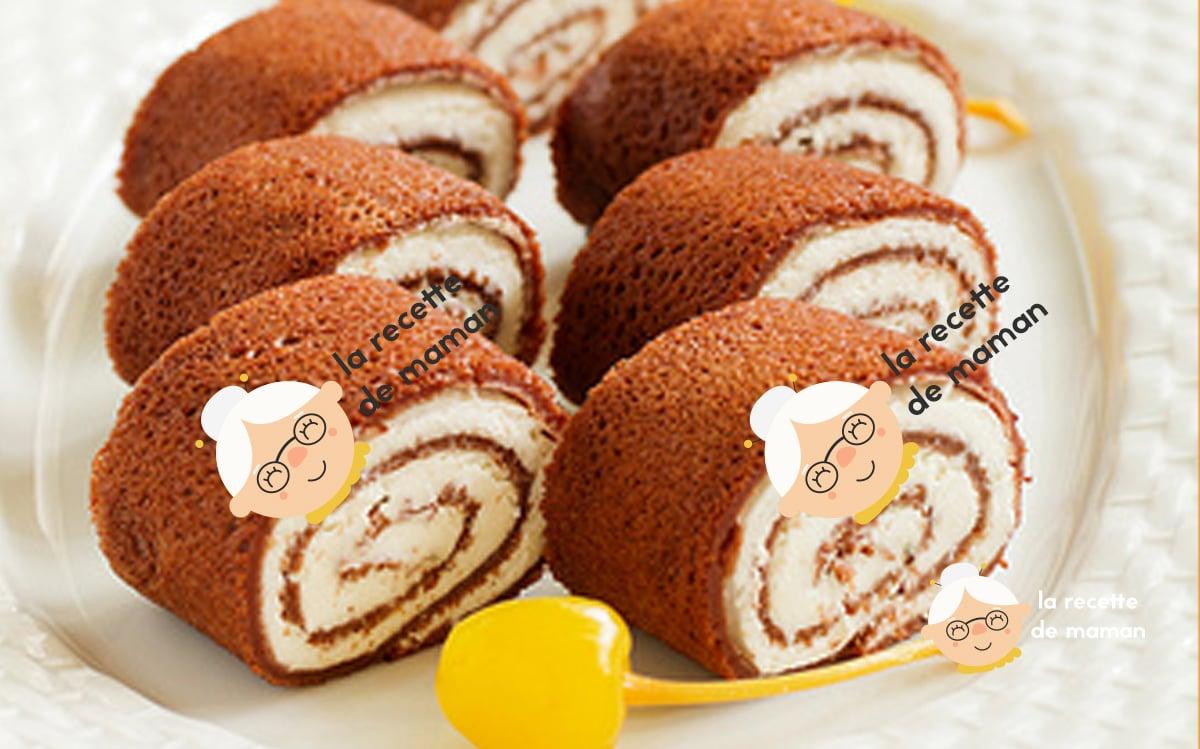 Roulés de crêpes chocolatées