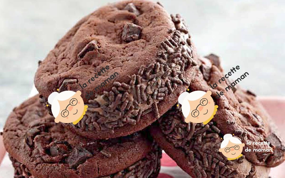 Sandwichs à la crème glacée au chocolat