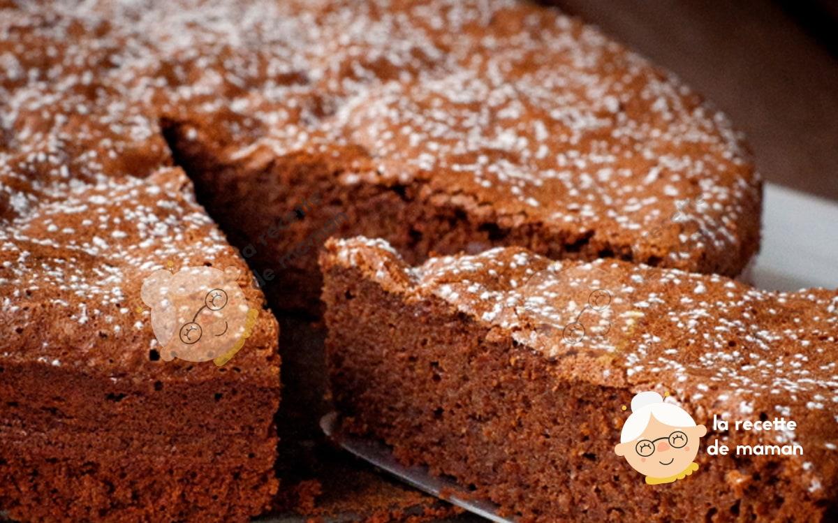 Gâteau au Chocolat, à la Noisette et à l'Orange