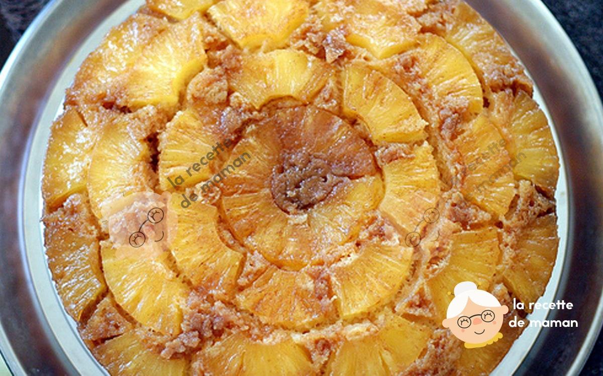 Recette gâteau ananas