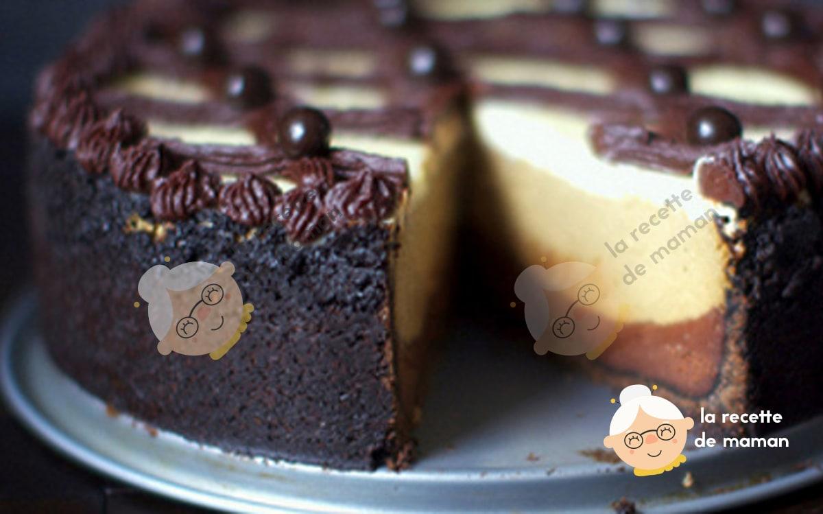 Recette cappuccino cheesecake fondant