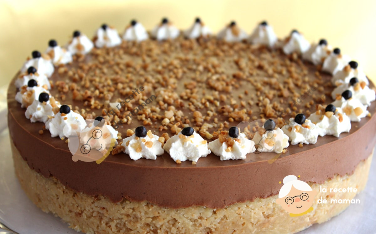 Gâteau au chocolat et au noix de Macadamia