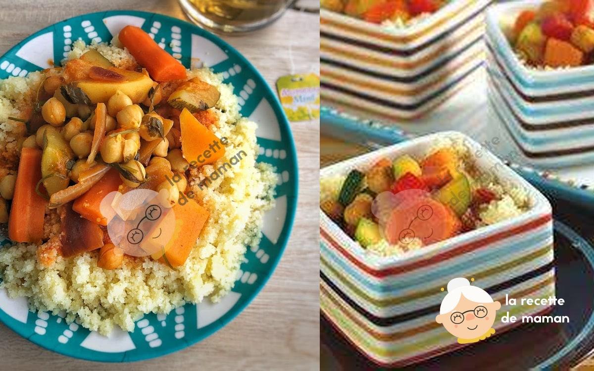 Couscous végétalien à la marocaine