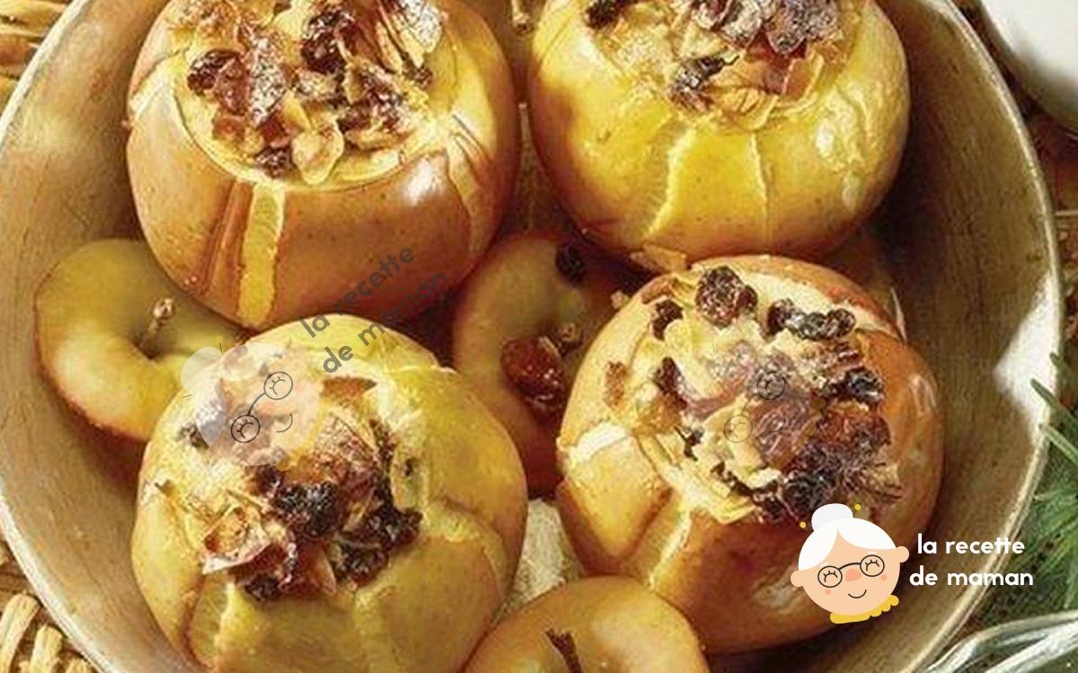 Pommes Farcies aux Fruits Confits