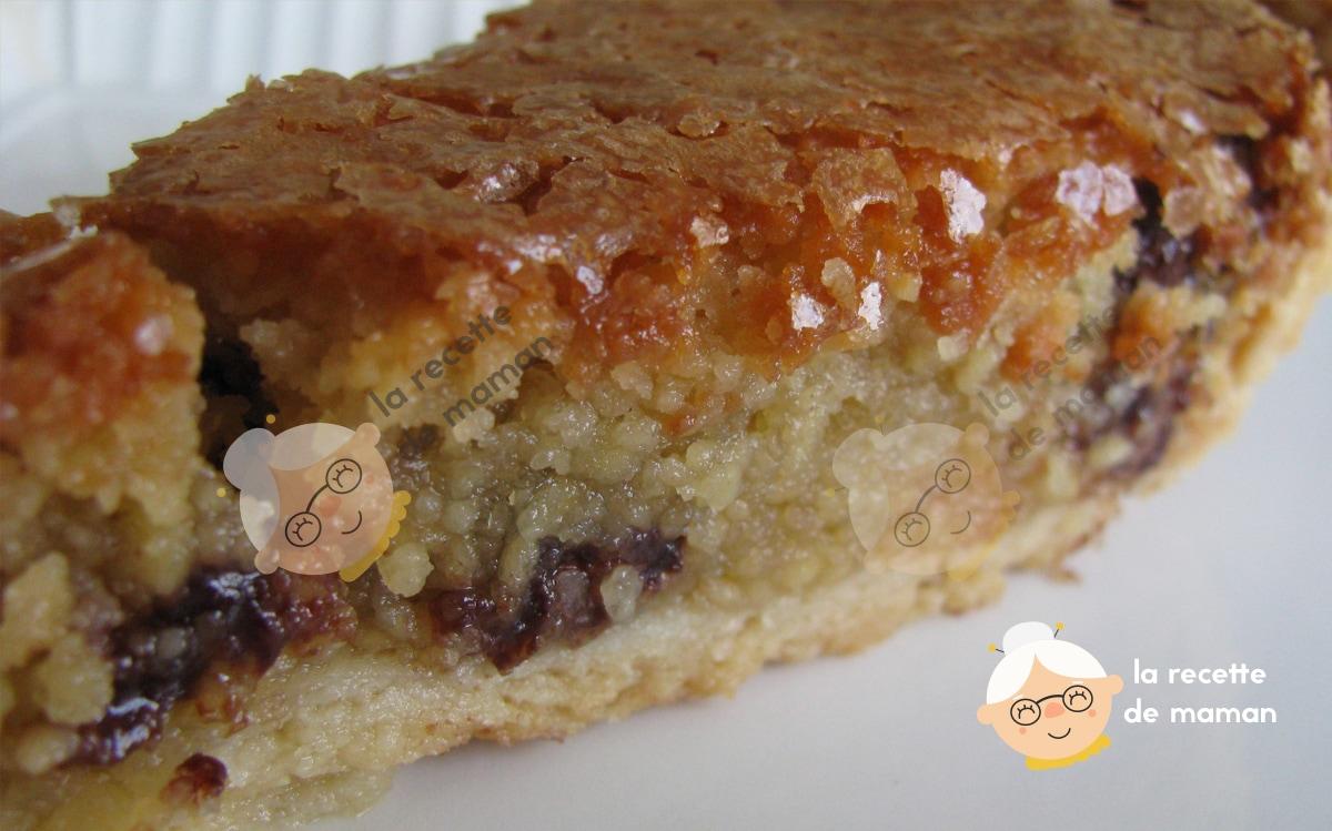 Recette tarte cookies et pepites de chocolat