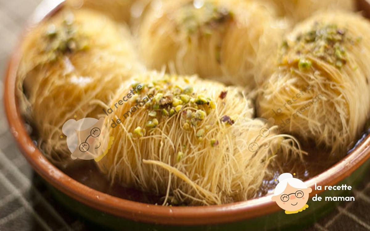 Ktayef ou cheveux d'ange amande noix