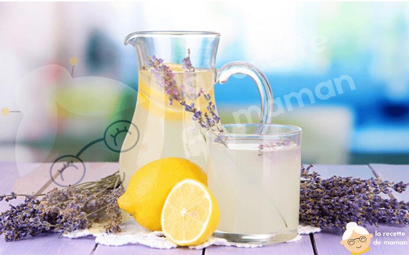 Recette limonade de lavande