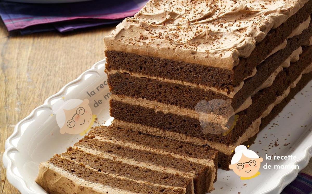 Gâteau choco-coco style Bounty