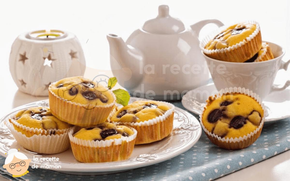 Muffins aux raisins sans gluten