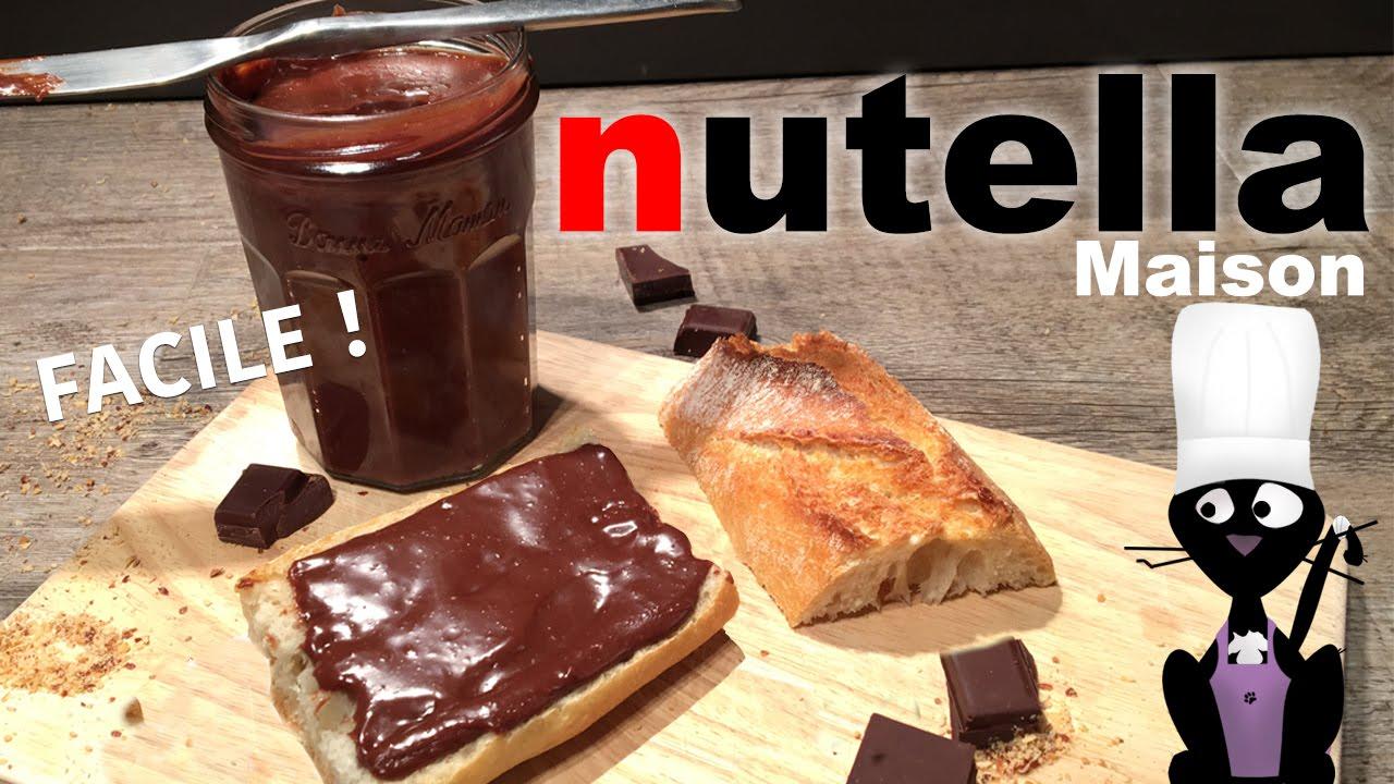 La meilleure recette de Nutella fait maison
