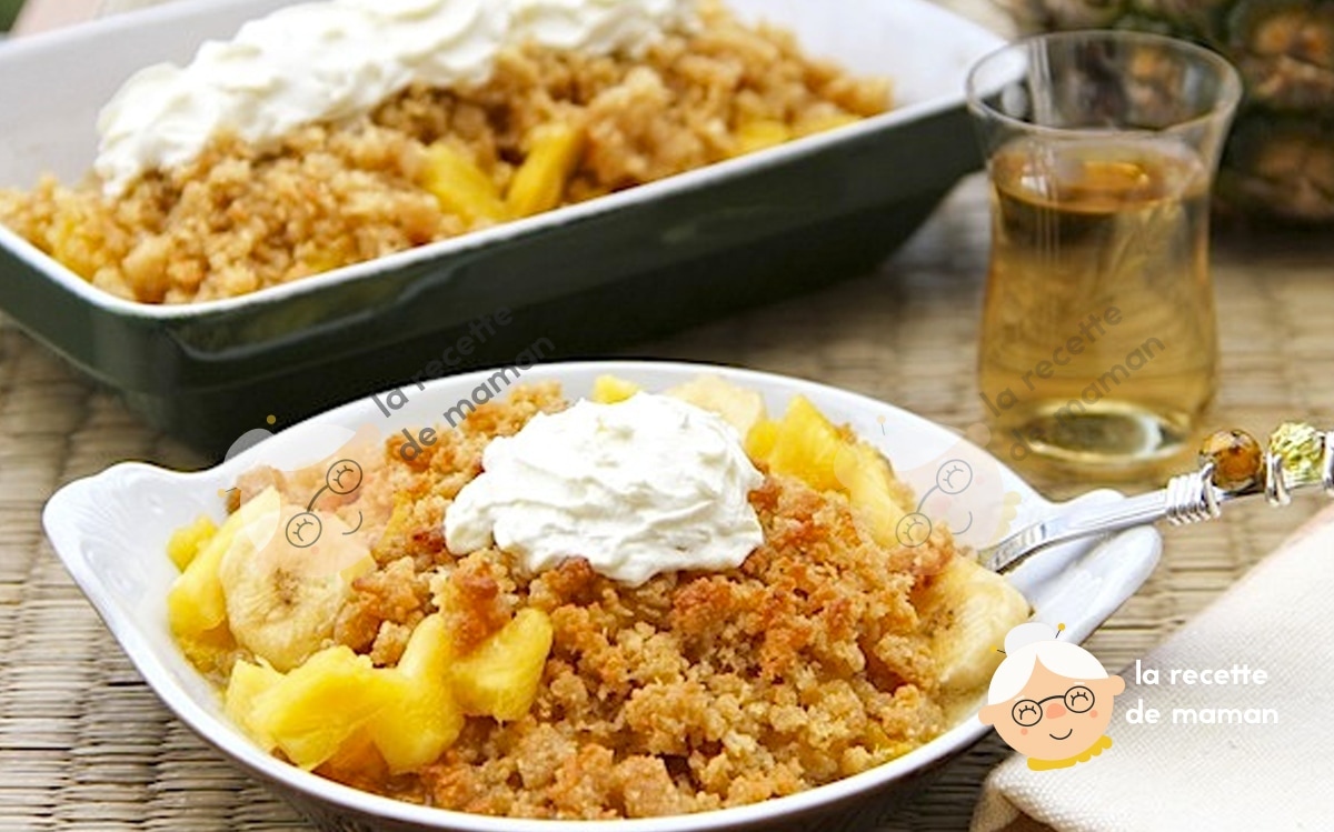 Pinapple Crumble