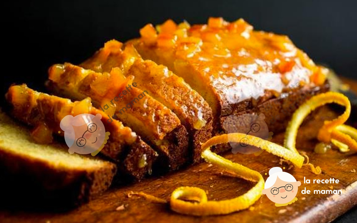 Gâteau d'Orange à la Noix de Muscade