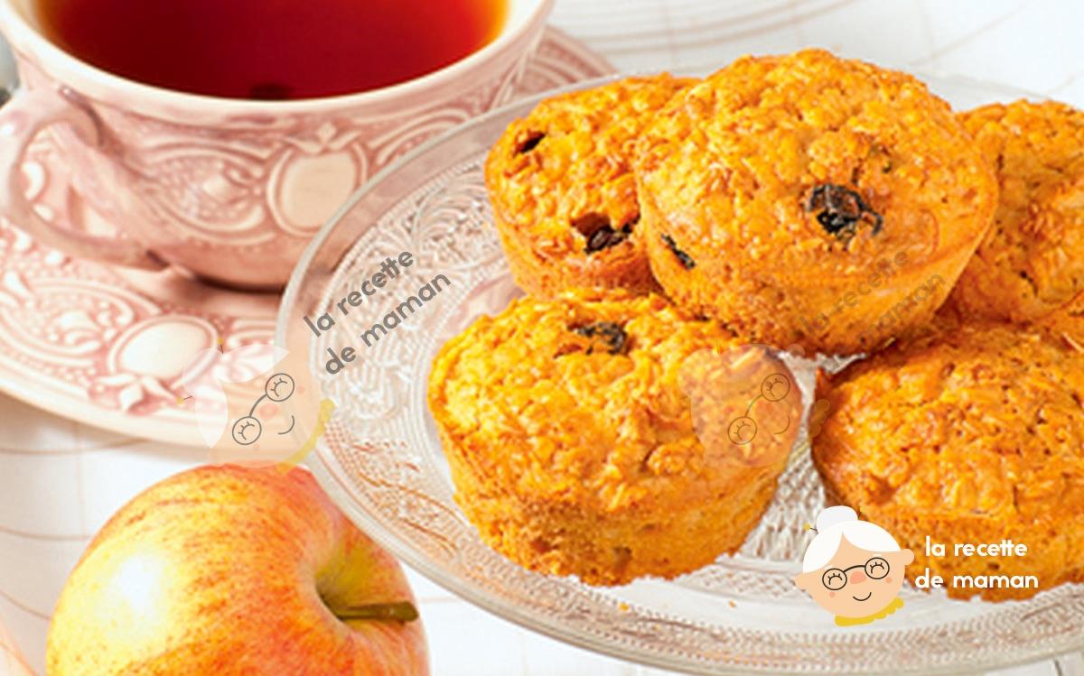 Muffins de potiron et bleuets